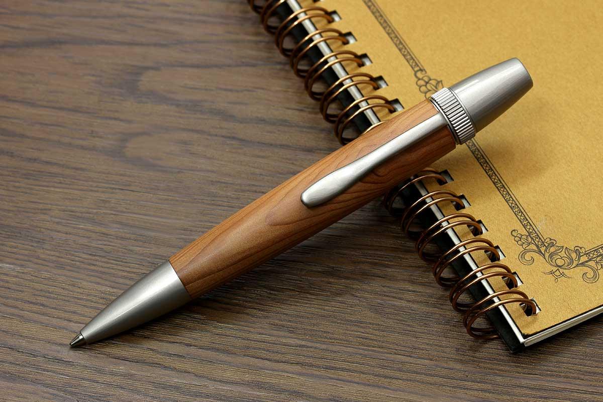 F-STYLE Wood Pen(銘木ボールペン)