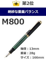 ペリカン・スーベレーン万年筆M800